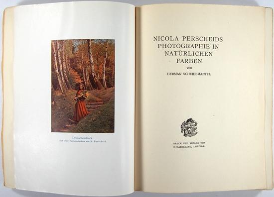 Photobibliothek.ch - Photobücher 1901-1910